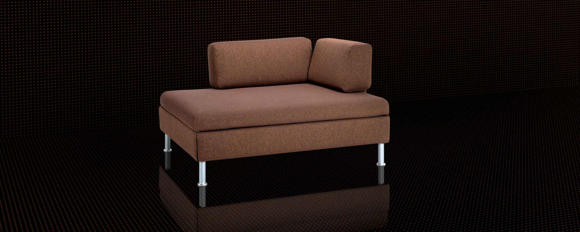 Kompaktes Schlafsofa BED for LIVING Duetto 1